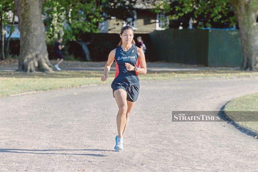 Alison Walker nee Tay is one of the rising number of ultra runners in the world. PIX COURTESY OF ALISON WALKER NEE TAY