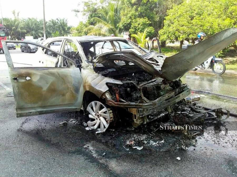 Selangor leads the list of accidents with 6,162 cases, followed by Johor (3,367) and Kuala Lumpur (2,469). Photo: Courtesy of the Fire & Rescue Dept