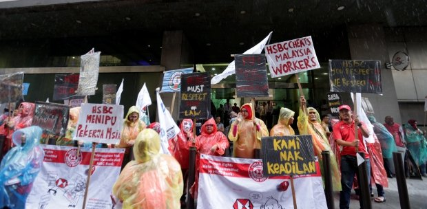 200 HSBC employees picket over alleged injustice   New