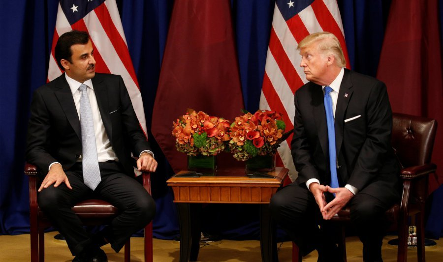 Image result for photos of president criticizing QATAR