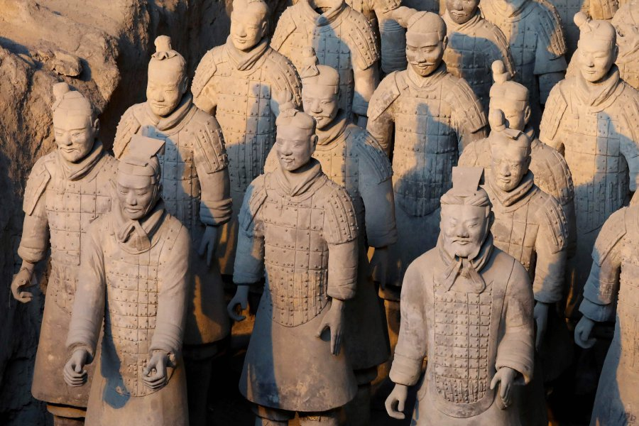 China condemns US man for stealing terracotta warrior's thumb after posing for selfie