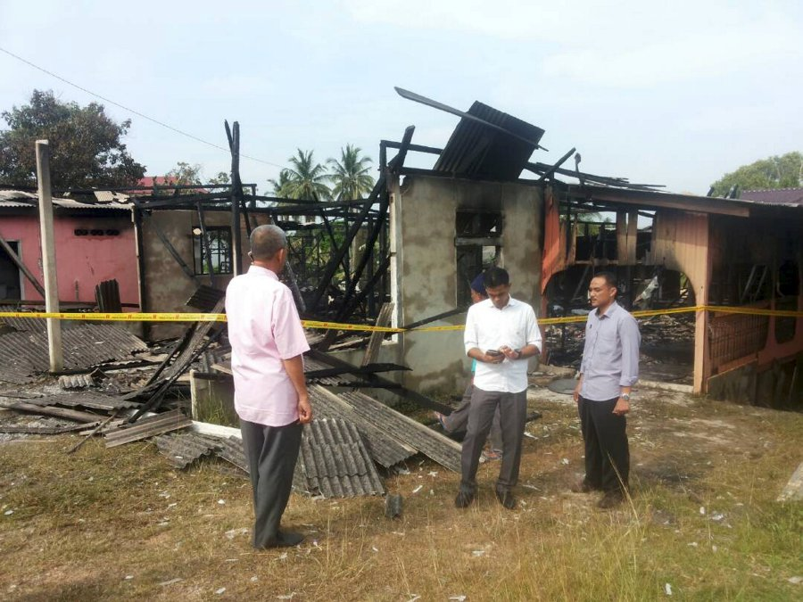 Family Left Homeless After Fire Razes Their Bungalow To The Ground