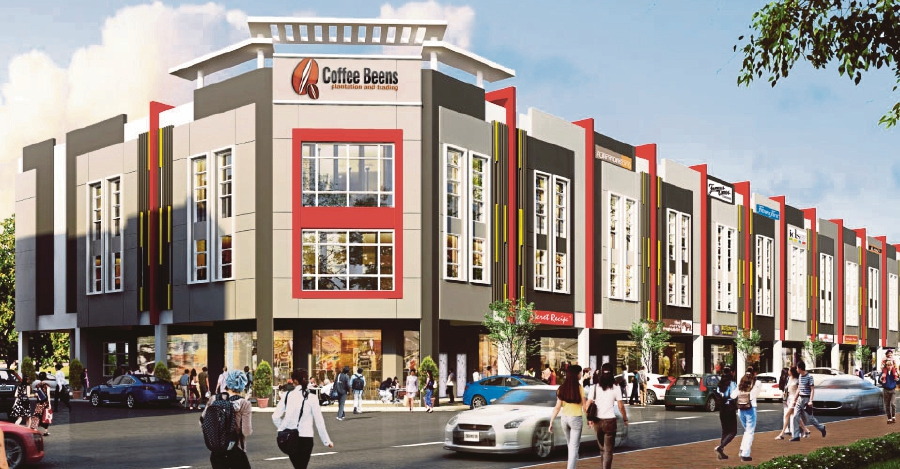 Business Park in Pontian by Parkland Group