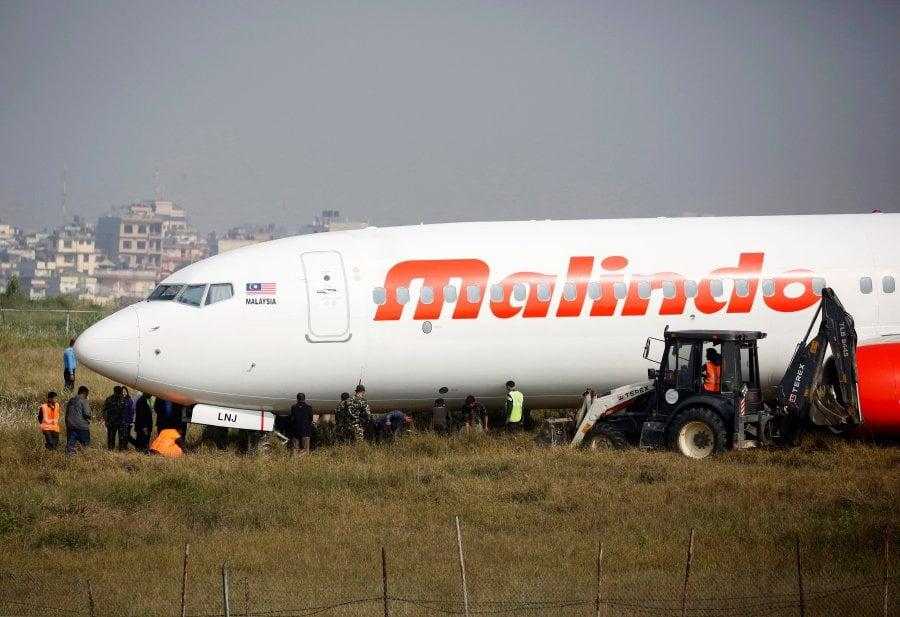 Malindo Air: Malindo Air Jet With 139 Passengers Skids Off Kathmandu