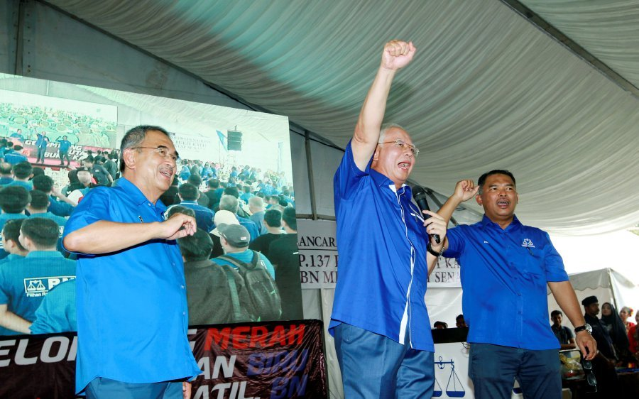 BN Component Parties Must Not Betray One Another, Says Najib