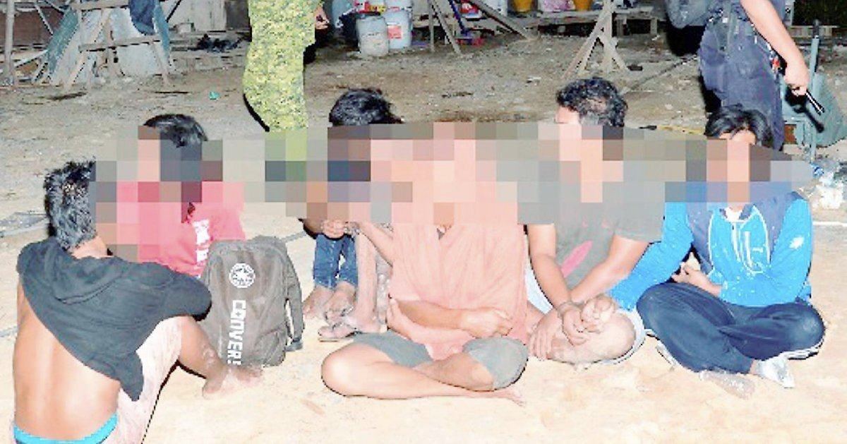 21 illegal foreigners rounded up in KK police op