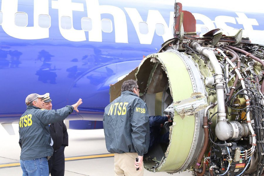 Hidden Crack in Southwest Jet Engine at Center of NTSB Investigation
