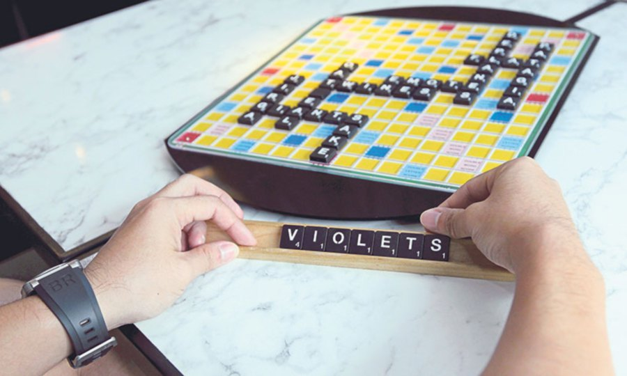 According to Teo, Scrabble is a game of mathematics.