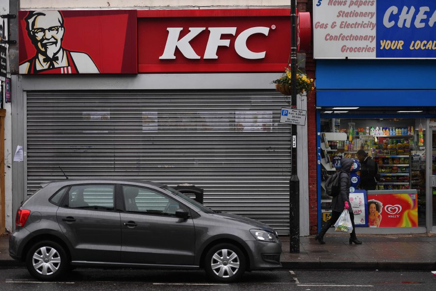 Some Kfc Stores To Close All Week In Uk Chicken Crisis New Straits