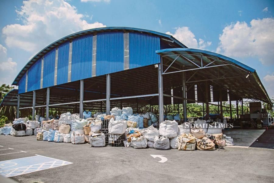 A plastic recycling factory in Kuala Langat, Selangor. Malaysia appears to be the dumping ground for plastic waste from 'developed countries'. FILE PIC