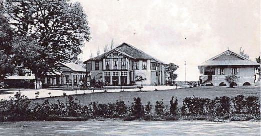 The Runnymede building is believed to be close to 200 years old, and was the former home of the Penang governor's assistant secretary, Sir Stamford Raffles.