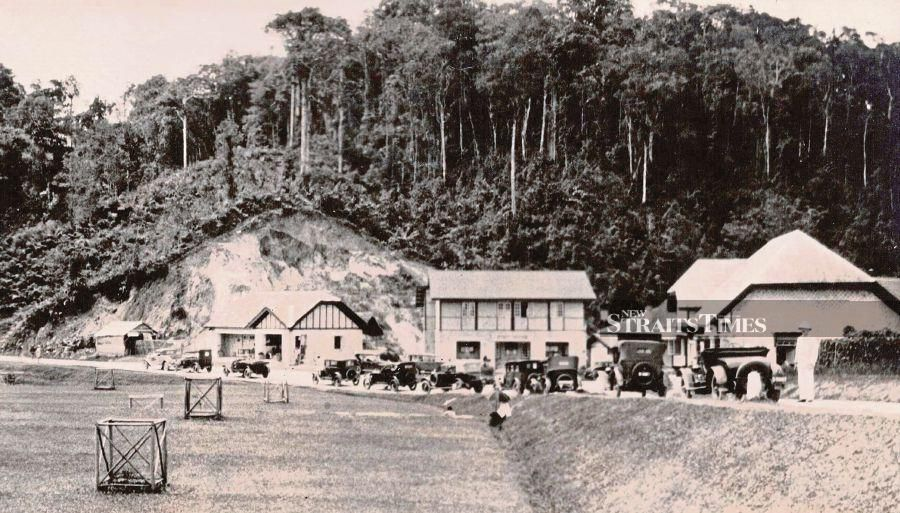 Fraser's Hill in the 1930s.