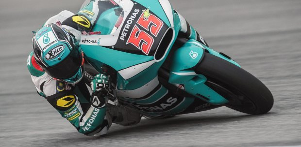 Motorbike Racing Msian Hafizh Syahrin Proves His Mettle At Jerez Spanish Gp  New -9832