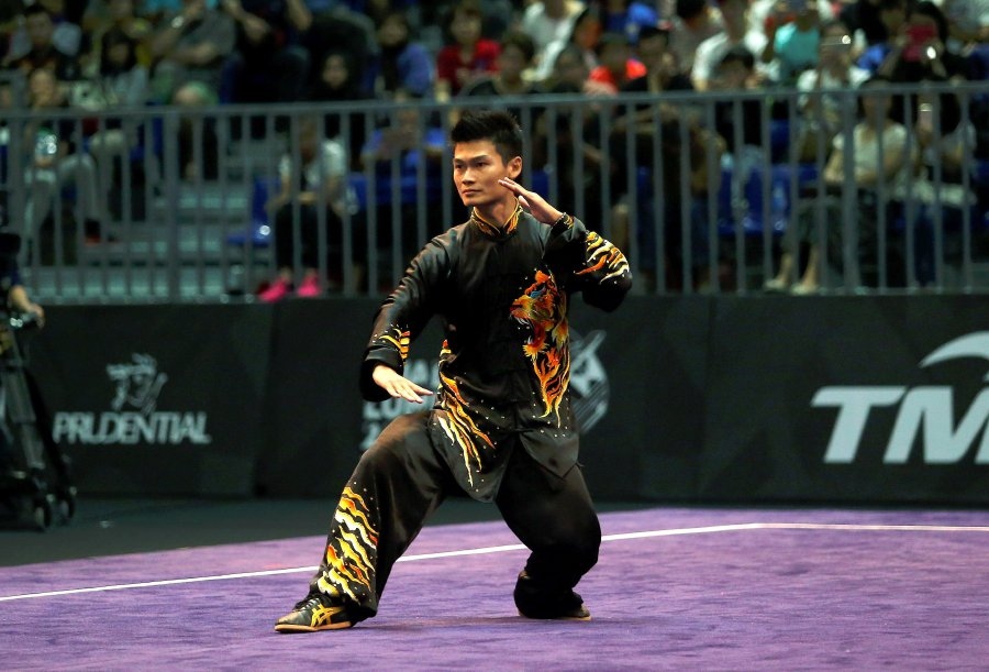 SEA Games: Loh Jack Chang delivers wushu's sixth gold
