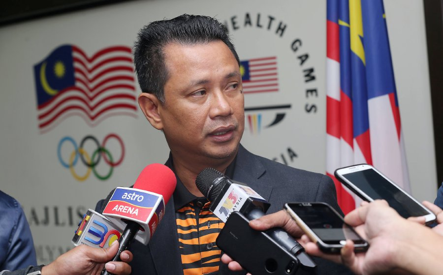 Olympic Council of Malaysia's (OCM) president-elect Datuk Seri Norza Zakaria does not want to speculate on the council's election. File pic by OWEE AH CHUN