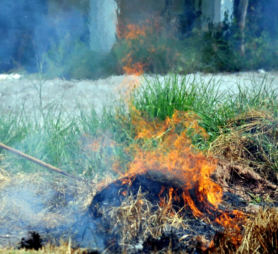 All Fire Departments On High Alert For Open Burning Activities