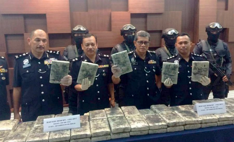 95-drug-traffickers-nabbed-299kg-of-drugs-seized-in-kedah-since-jan