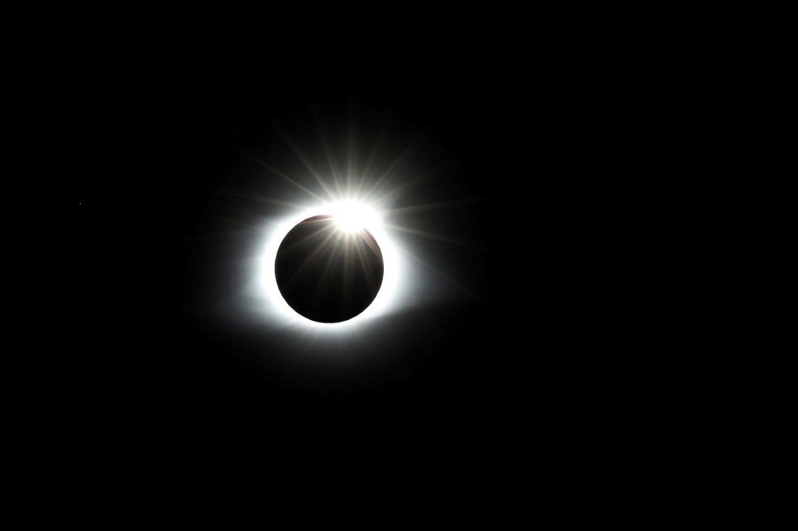 Share your photos and videos of the total solar eclipse