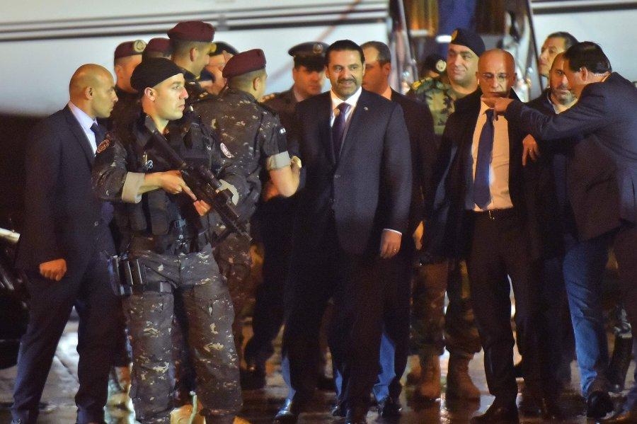 Lebanon's Hariri lands in Cyprus, meets its president - Hariri Twitter feed