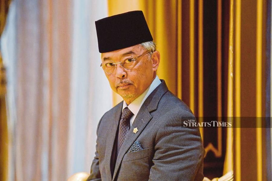 The Yang di-Pertuan Agong, in a letter dated yesterday, has consented to the Yang di-Pertua Negeri's application for the state legislative assembly sitting to be held after the Emergency Proclamation is lifted on Aug 1. - NSTP/SHAFIQ HASHIM