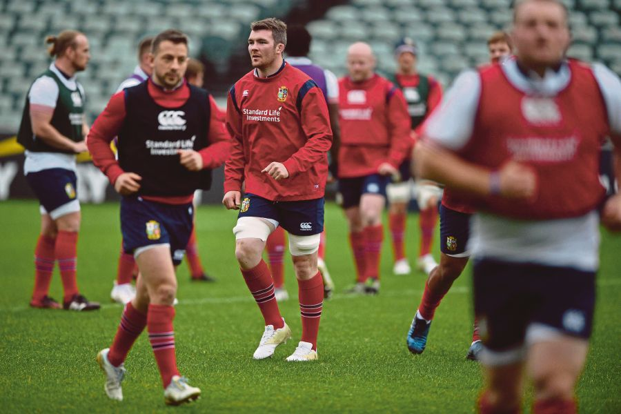 O'Mahony to lead 'courageous' Lions against All Blacks