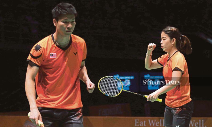FILE PIX: Shevon Lai (right).