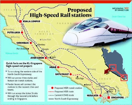 MALAYSIA / SINGAPORE | High Speed Rail - Page 16 - SkyscraperCity
