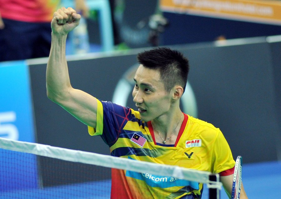 Lee Chong Wei Is Aiming To Win The All England Title In Birmingham Pic By Amran Hamid