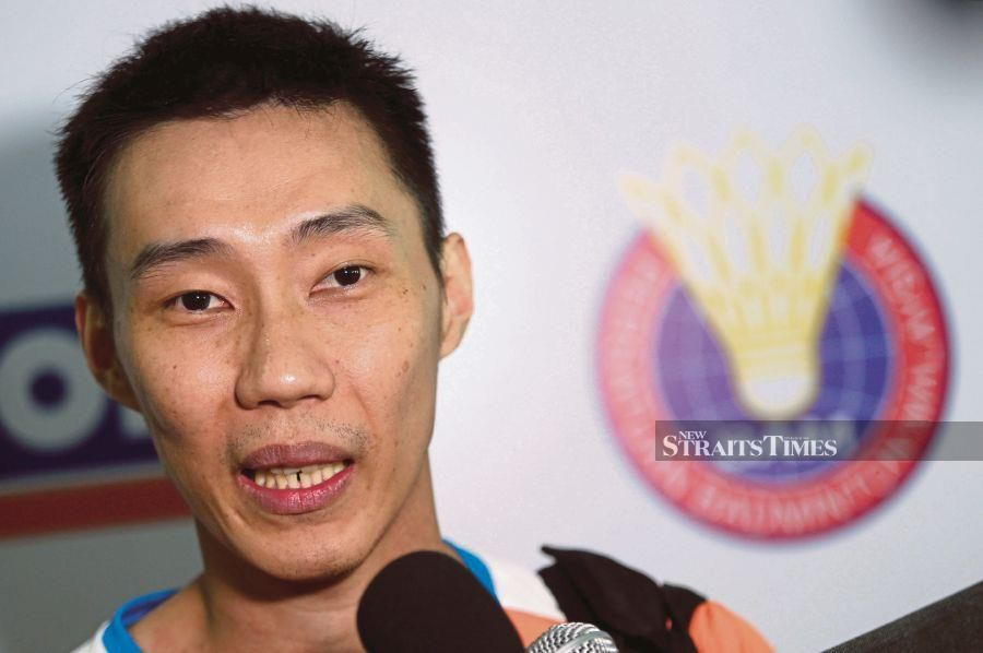 Former national shuttler Lee Chong Wei. -- NSTP FILE PIX