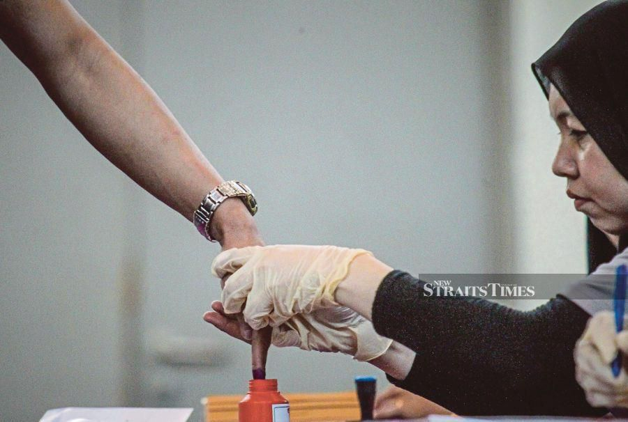 First-time voters are often energised by the novelty of going to the ballot box. FILE PIC