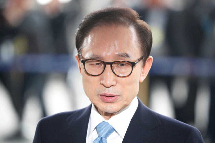 Korea's ex-President Lee arrested on graft charges