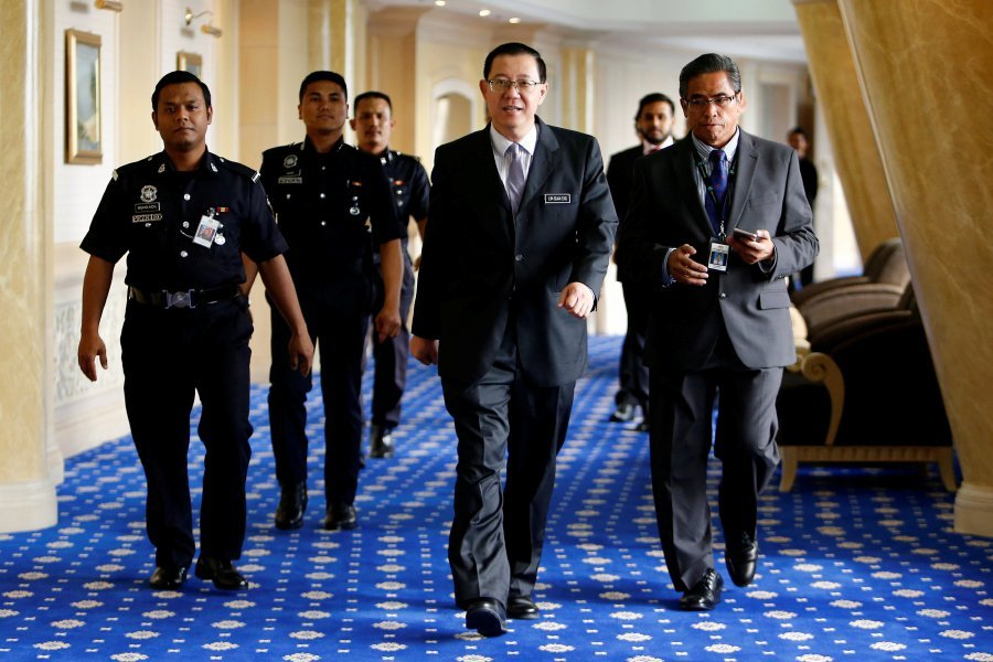 Image result for finance minister lim guan eng