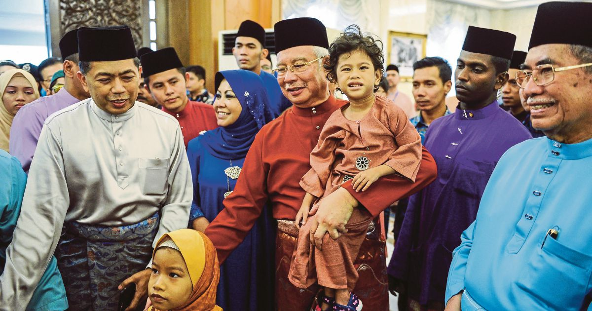 People themselves key to maintaining peace and security, says Najib