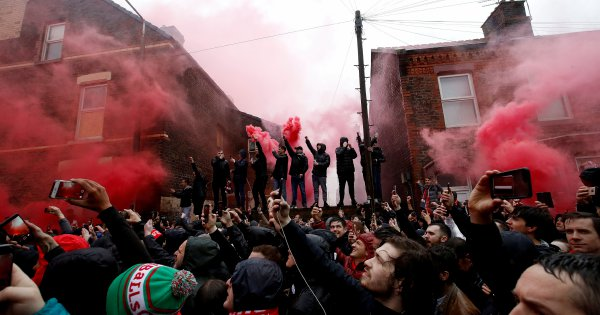Police arrest 2 on suspicion of attempted murder before Liverpool-Roma game