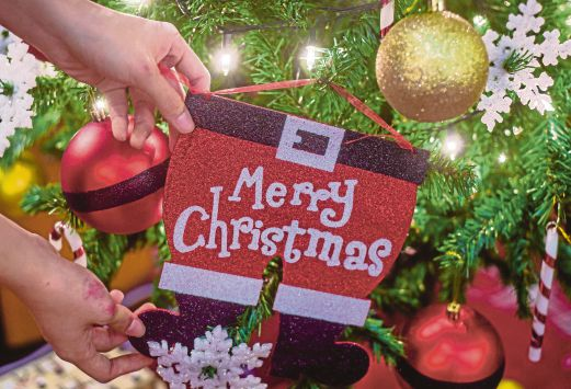 Merry christmas everyone new straits times malaysia general christmas greetings can be used in malaysia taking into account its plural society pic by muhammad sulaiman m4hsunfo