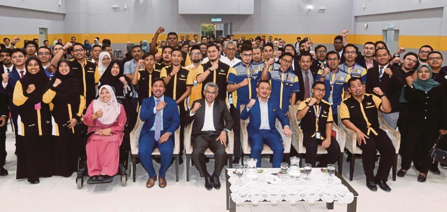 International Islamic University Malaysia was selected as the first university to establish a Students' Union to increase students' decision-making role.NSTP/SALHANI IBRAHIM