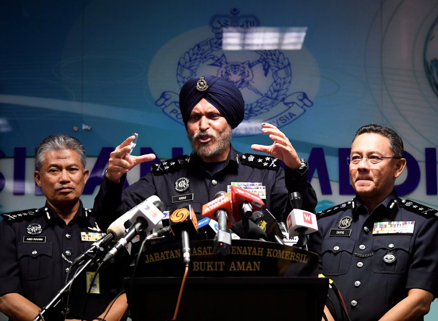 Amar Singh Police Took Three Days To Count Seized Cash New Straits Times Malaysia General Business Sports And Lifestyle News