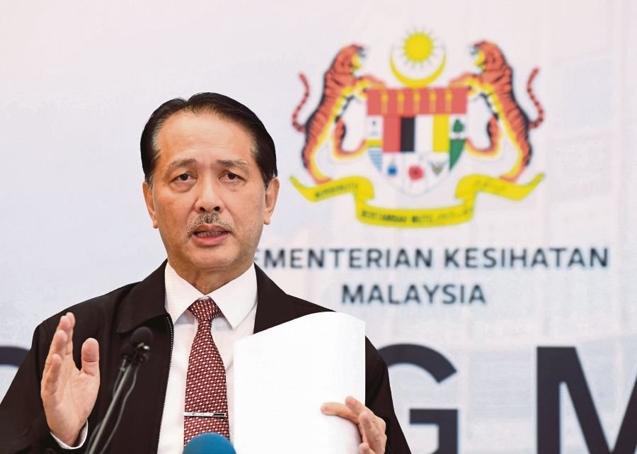Health director-general Datuk Dr Noor Hisham Abdullah. -- Pix: Bernama