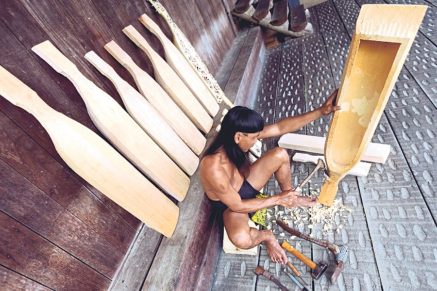 Orang Ulus are easily one of the most gifted craftsmen and women.