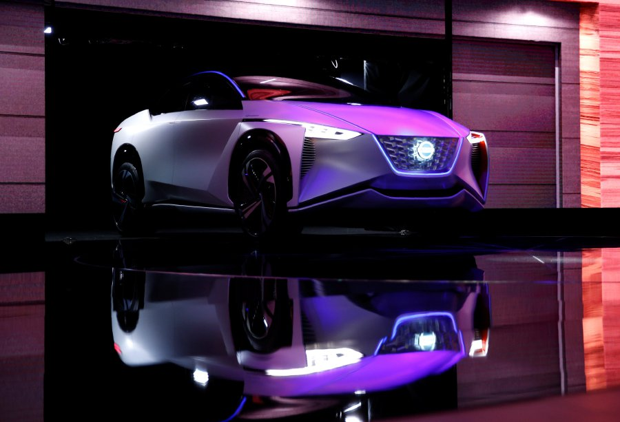 Nissan Motor presents IMx zero emission concept during media preview of the 45th Tokyo Motor Show in Tokyo, Japan Oct 25, 2017. Reuters Photo