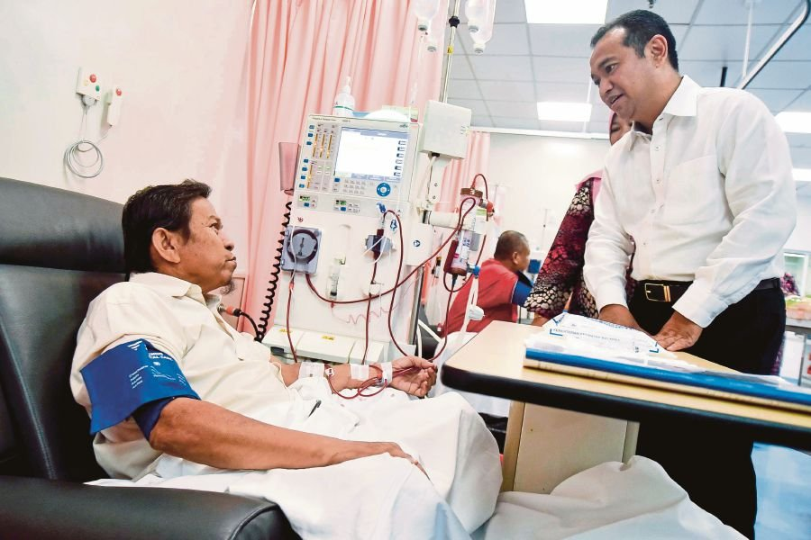 Patients thankful they don't have to travel far for dialysis