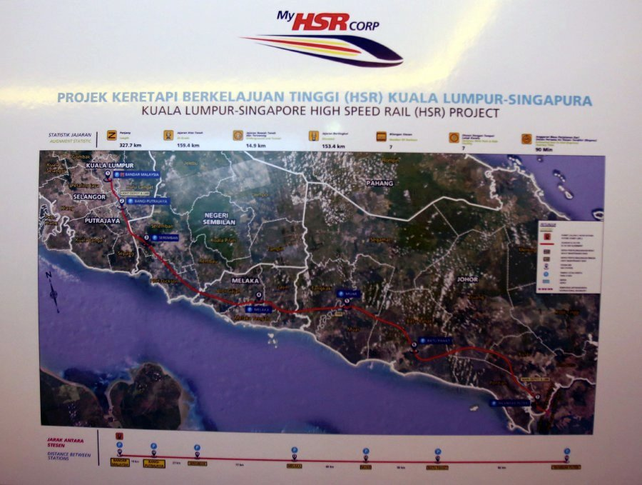 Chinese consortium led by CRC to bid for KL-Singapore HSR project