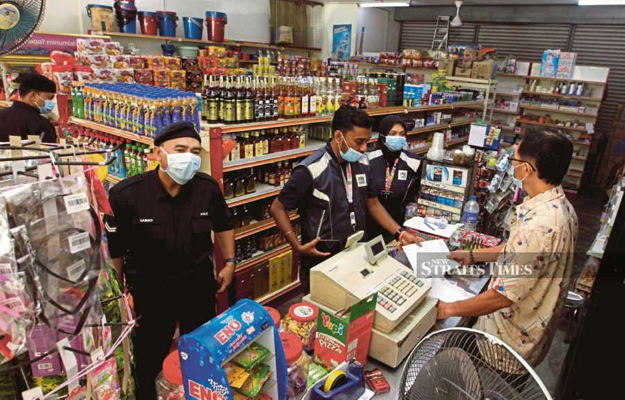 In a nutshell, saving SMEs during this pandemic is a top priority. - NSTP file pic