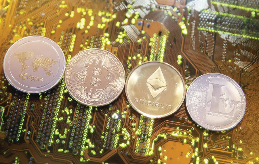 The virtual currencies available in some countries, including Bitcoin. REUTERS PIC