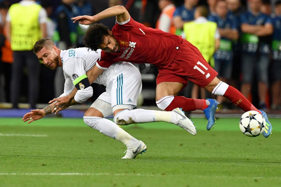 Sergio Ramos sends quick recovery wishes to Mohamed Salah