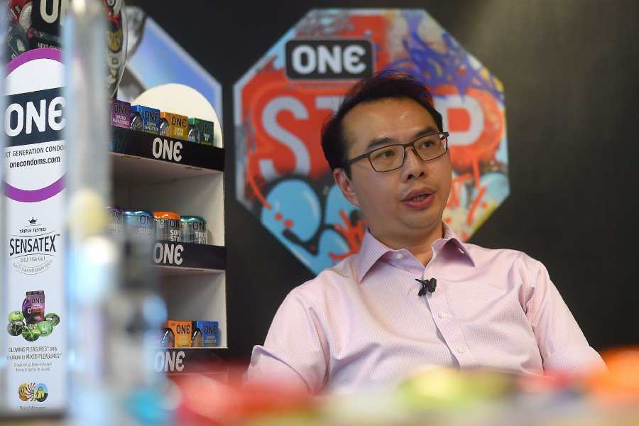 Malaysian condom-maker Karex Industries chief executive officer Goh Miah Kiat insisted the range of wacky condoms were more than just a marketing gimmick. AFP