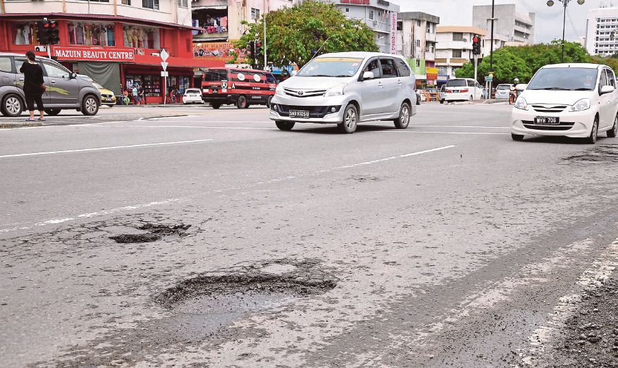 Image result for pothole malaysia