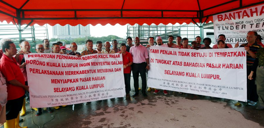 Selayang wet market traders want further discussion with