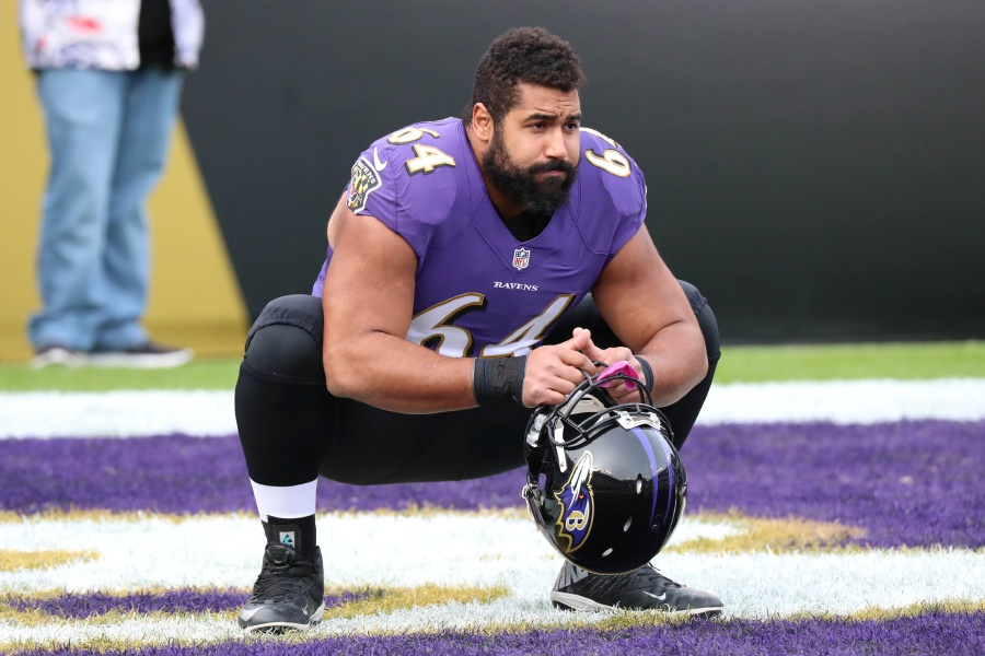 Ravens OL John Urschel Announces His Retirement