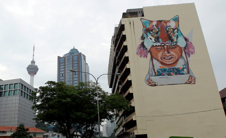 Brave is by far the biggest artwork under the #tanahairku project